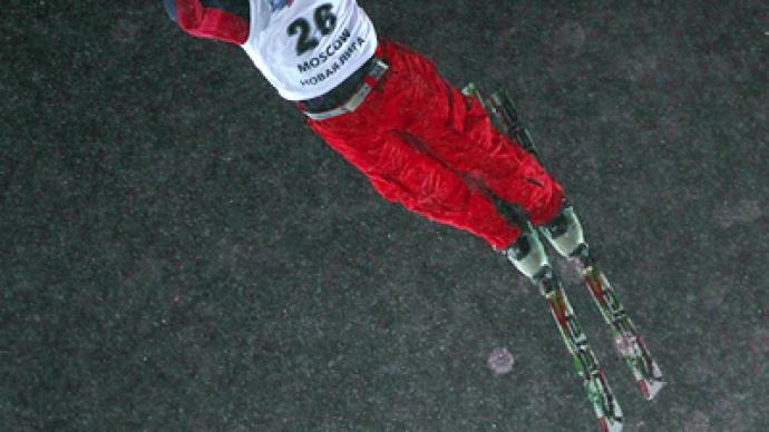 American freestyle skier triumphs at World Cup stage in Moscow
