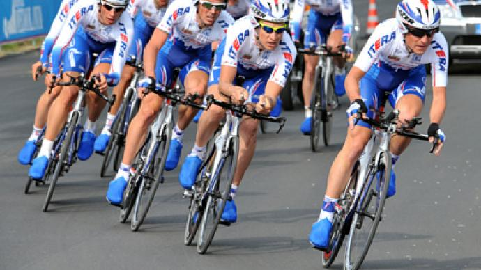 Russian cyclists vie for Katyusha team places