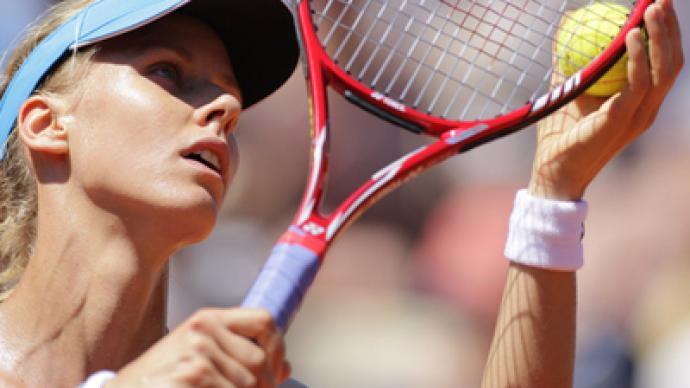 Dementieva returns to court for charity