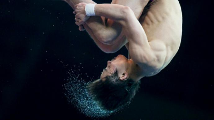Chinese divers perfect at Moscow's World Series event