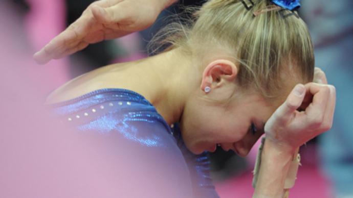 Douglas unreachable for Russia in artistic gymnastics individual all-around