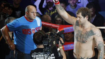 Emelianenko Jr ends career after drunken row