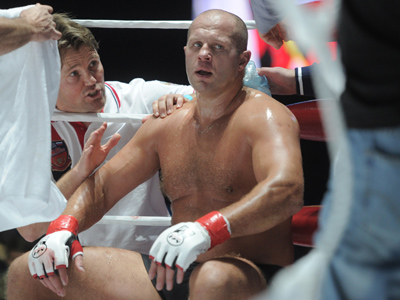 Fedor spoils Ishii's New Year