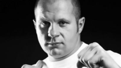 MMA superstar Emelianenko hands out awards at Moscow M1 Selection finals