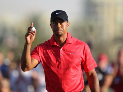 'I feel at peace where I'm at' - Woods