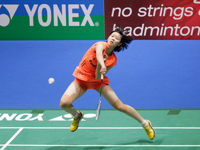 Female badminton players show who wears the pants