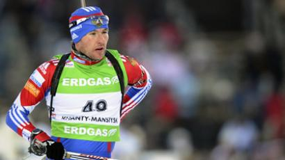 Russian relay team finish second behind Norway at biathlon Worlds