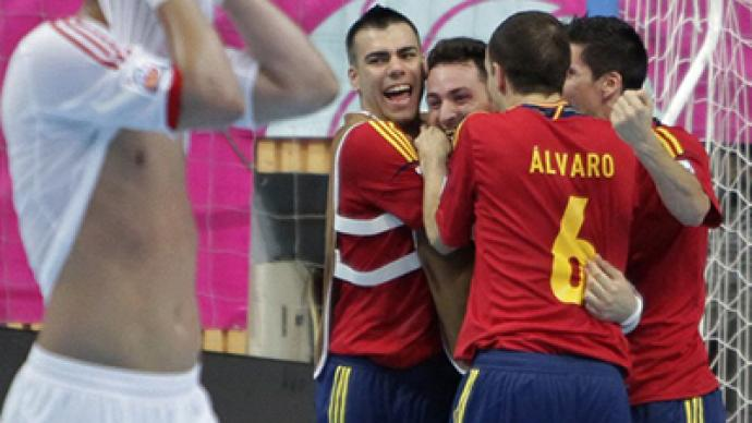 Fruitless futsal Worlds: Spain leave Russia without medal