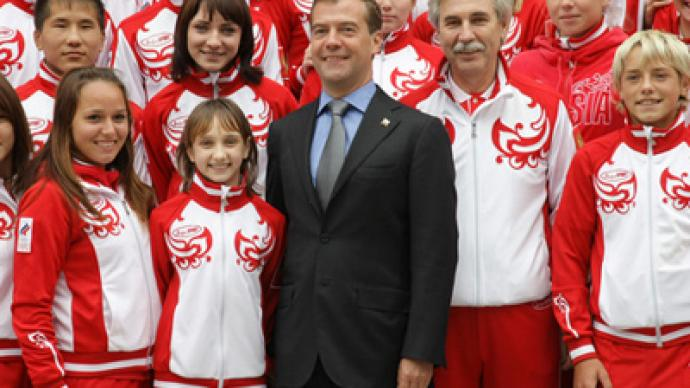 Gazprom to spend $130 mln on Russian Olympians