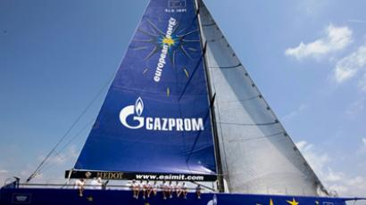 Gazprom powered yacht breaks Giraglia Cup record