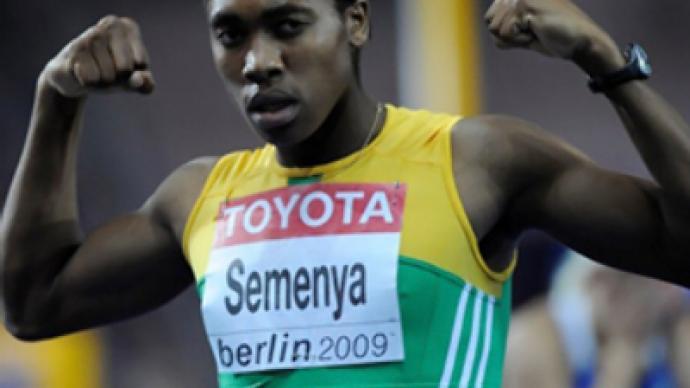 Gender test for world champion