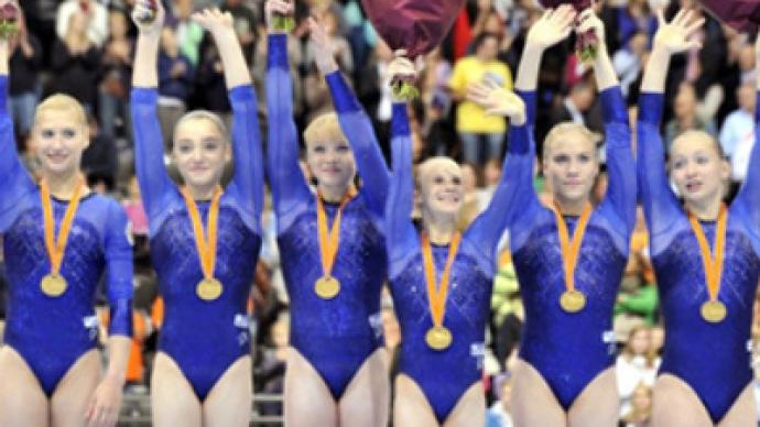 Russian women grab gold at Artistic Gymnastics Worlds