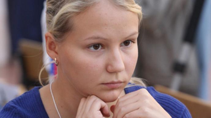 Russia beauty claims European chess crown