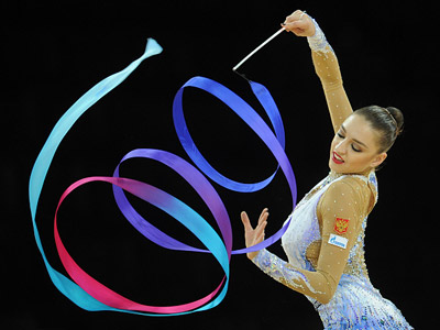Russians head above all at rhythmic gymnastics worlds