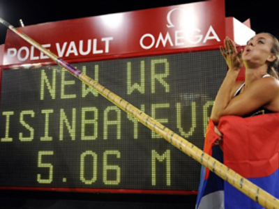Pole vault queen Isinbayeva - athlete of the year again