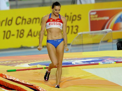 Russia climbs on top of overall medal table at athletics worlds