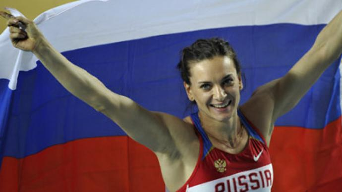 Isinbayeva to quit in two years