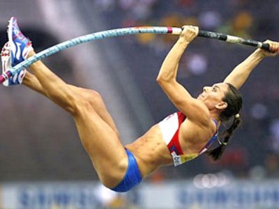 Isinbayeva aims to become 'legend' at London 2012