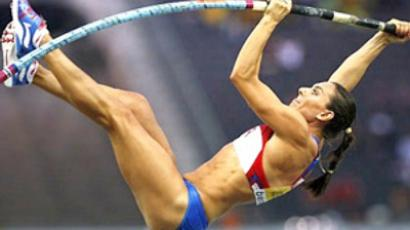 Pole vault queen Isinbaeva victorious at Diamond League event
