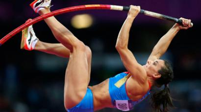 Russian pole vaulter blames London 2012 organizers for triple fracture