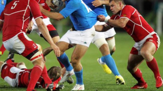 Russia collect first-ever Rugby Worlds try in Italy loss