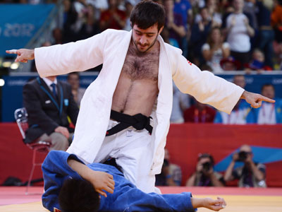 Isaev wins second judo gold for Russia