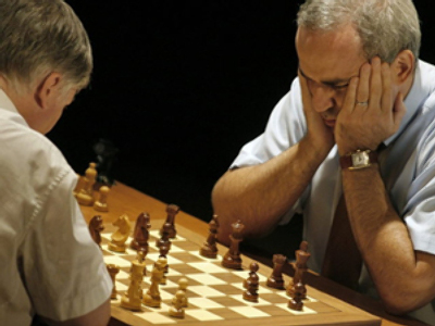 Former chess champ to entertain 'space travelers'