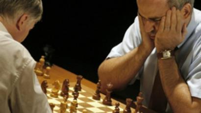 Russian grand master secures world record