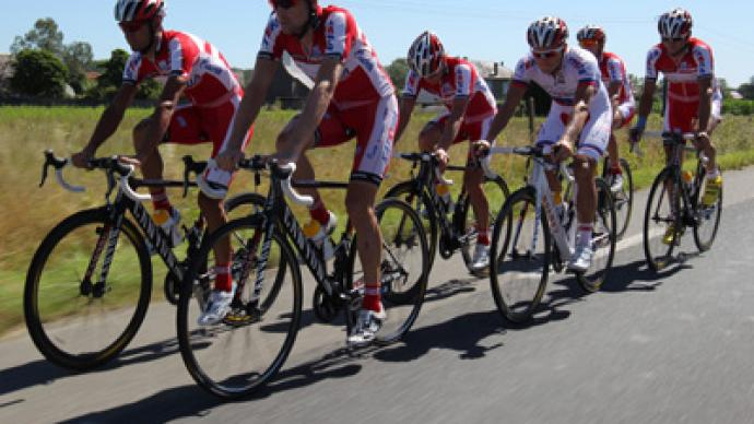 Katusha's license denied because of doping