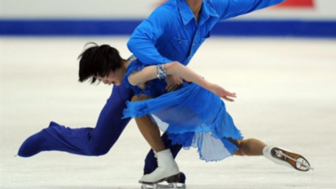 Kavaguti and Smirnov fail to defend European figure skating pairs title