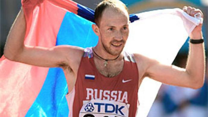 Russian walkers bag all Berlin gold