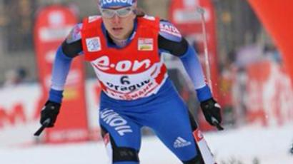 Russian sprinter wins Tour de Ski stage