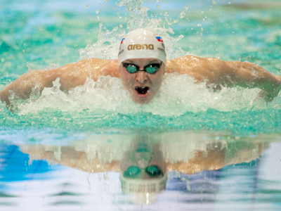 Swimming hopeful Korotyshkin ready to cope with Olympic pressure