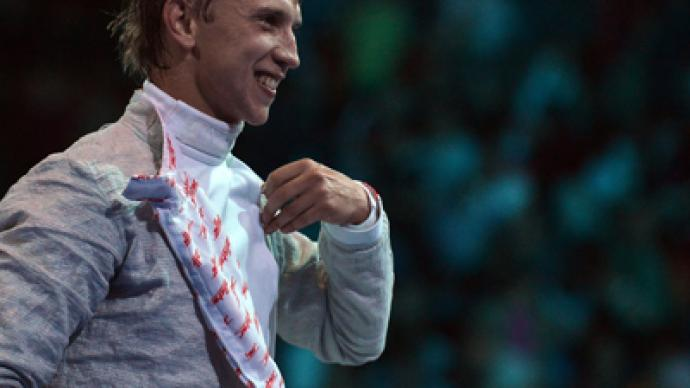 Kovalev takes bronze in Olympic sabre