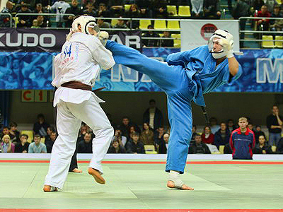 Russia knocks opponents out at home Kudo World Cup