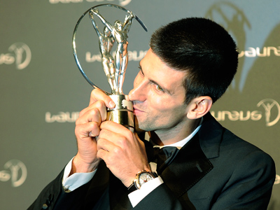 And the Sports 'Oscars' go to…Djokovic and Barcelona