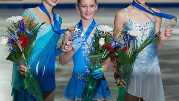 Russian girls dominate Junior Grand Prix finals