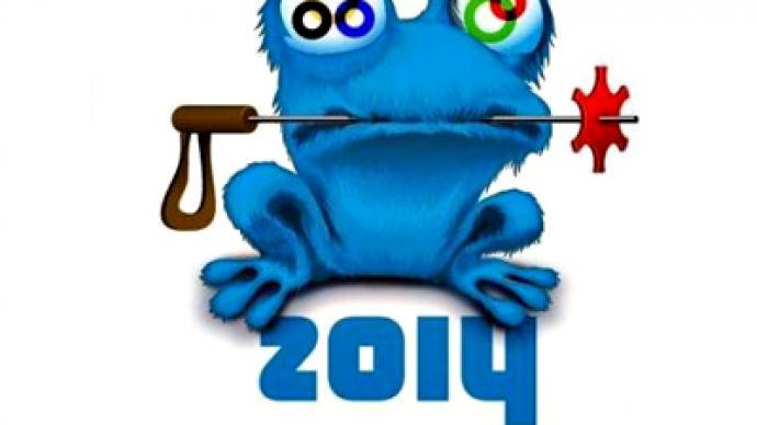 Mock mascot Zoich masterminded by Sochi 2014 organizers