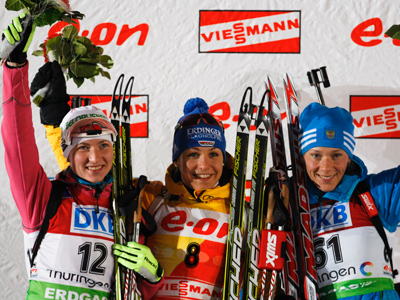 Neuner rehabilitates herself, Zaitseva claims 8th podium in-a-row
