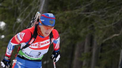 Russian wins biathlon season-ending event