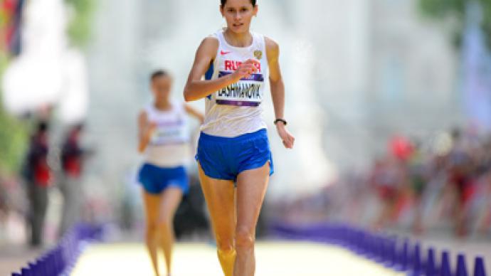 Russians one-two winners in Olympic walk