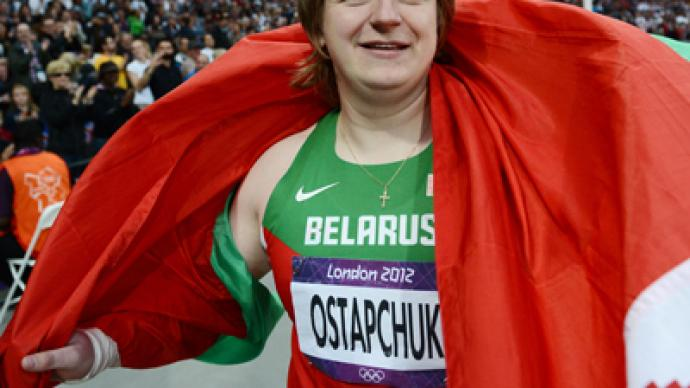 Belarus shot putter Ostapchuk stripped of Olympic gold