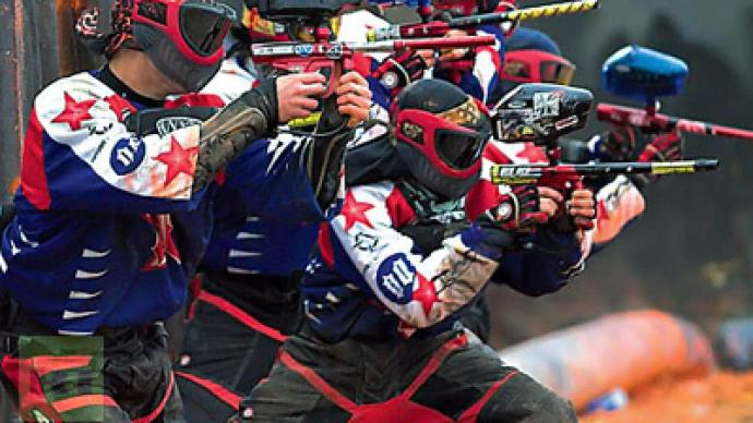 Russian Legion bag paintball World Cup