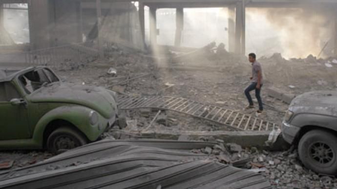 Israeli air forces bomb central stadium in Gaza