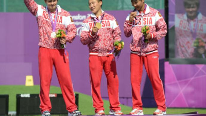 Russian archers sweep Paralympic podium