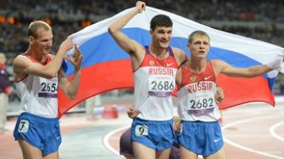 Russian Paralympians under fire in London