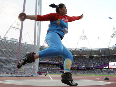 Pishchalnikova misses out on discus throw gold