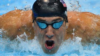 Phelps accused of violating Olympic rules, swimmer's agent denies