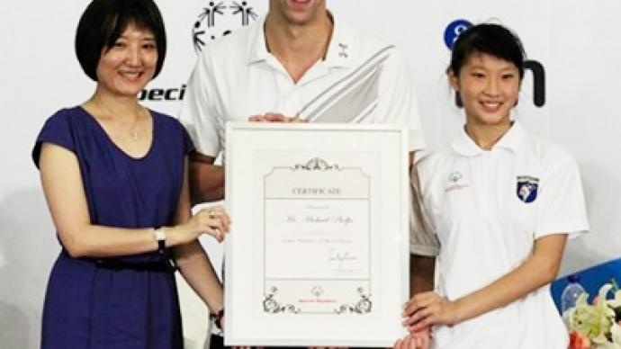 Phelps joins Yao Ming and Kaka as Special Olympics envoy