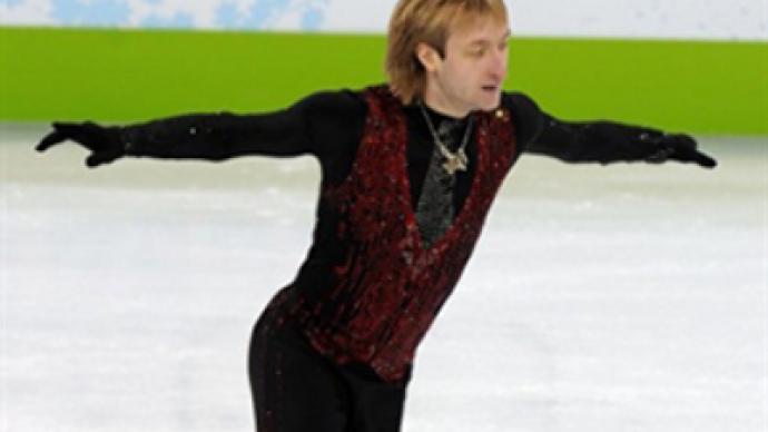 Plushenko won't relinquish Sochi dream